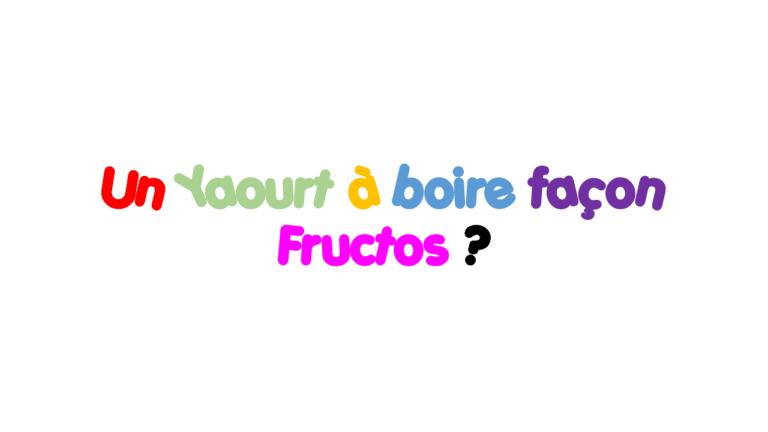 """Dans le forum recette du """"Yaourt à Boire"""""""